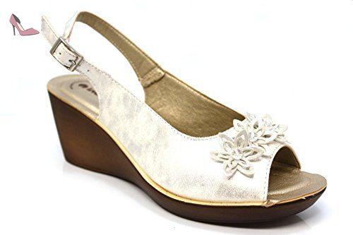 Inblu 26 63 E Sandales Femme Noir Noir - Chaussures Sandale Femme