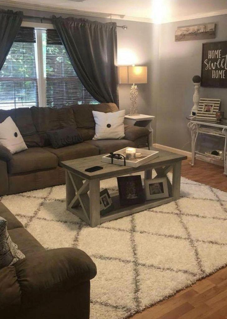Stunning Fascinating Farmhouse Living Room Decor Ideas For You 9 In 2020 Farm House Living Room Living Room Decor Cozy Mobile Home Living