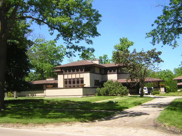 Frank Lloyd Wright Ward Willits House Highland Park Illinois 1902 Architecture