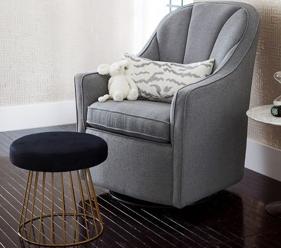Deco Glider Amp Ottoman With Images Glider And Ottoman