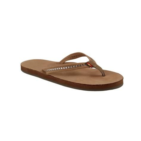 Womens Rainbow 401 Gemstone Sandal