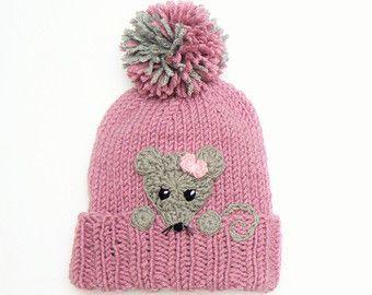 47daa19fa37 Knit Girls Hat