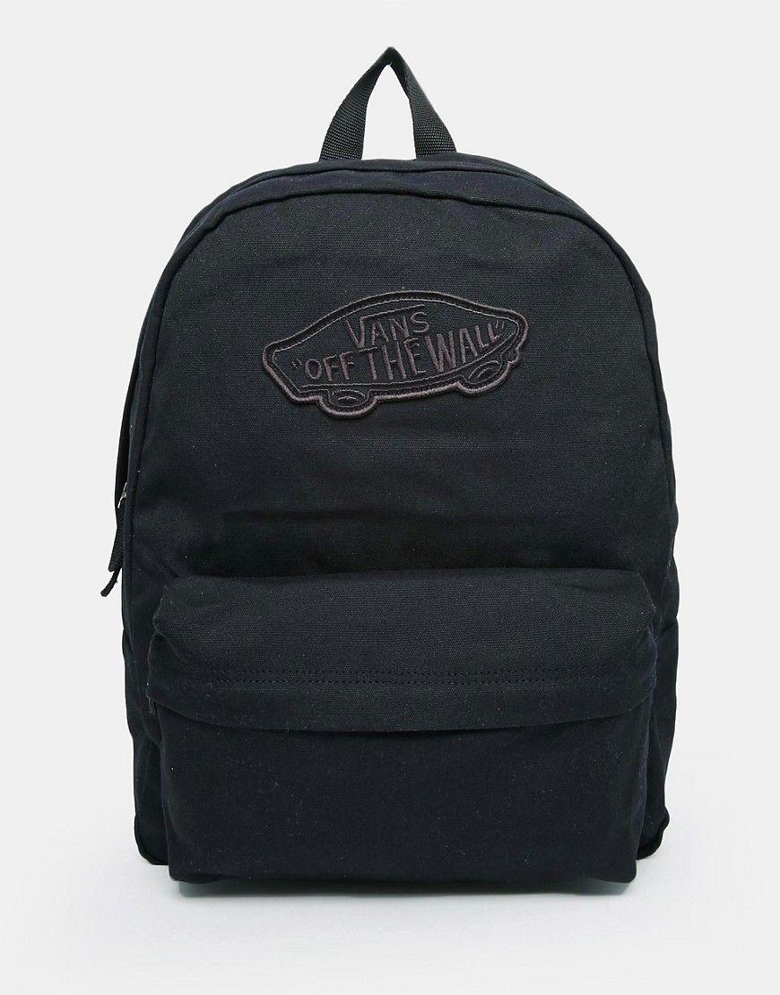 Vans+Realm+Backpack+in+Black  c2ac9ca1b71