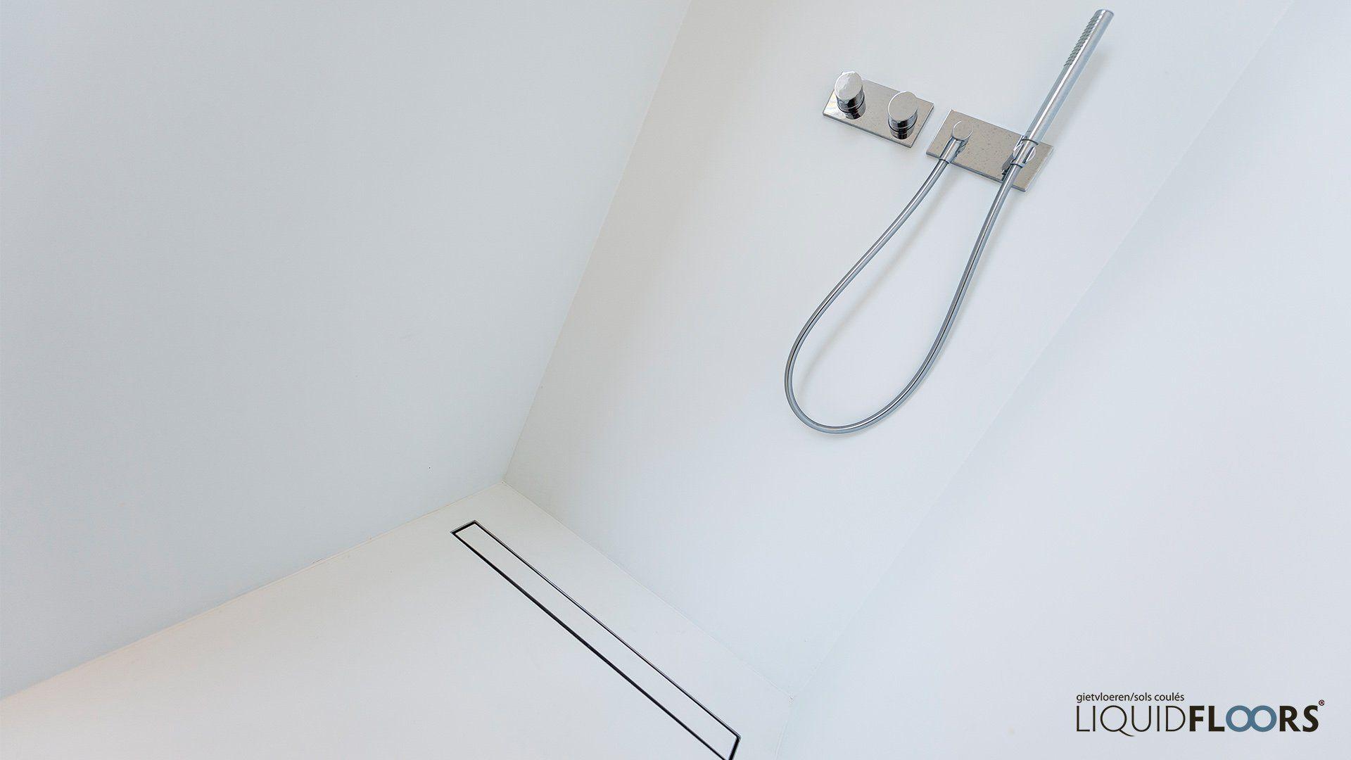 inloopdouche gietvloer liquidfloors gietvloeren badkamer
