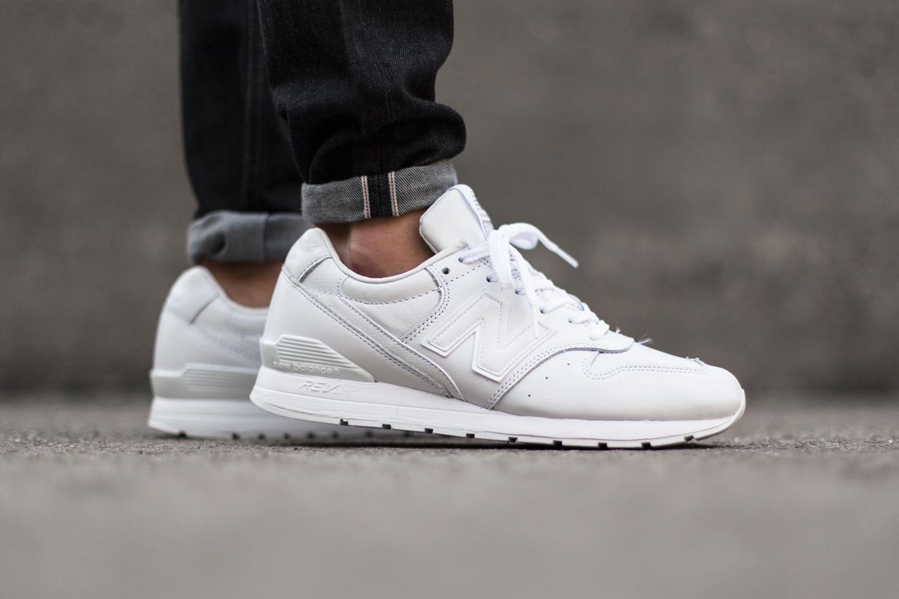 all white new balance hypebeast