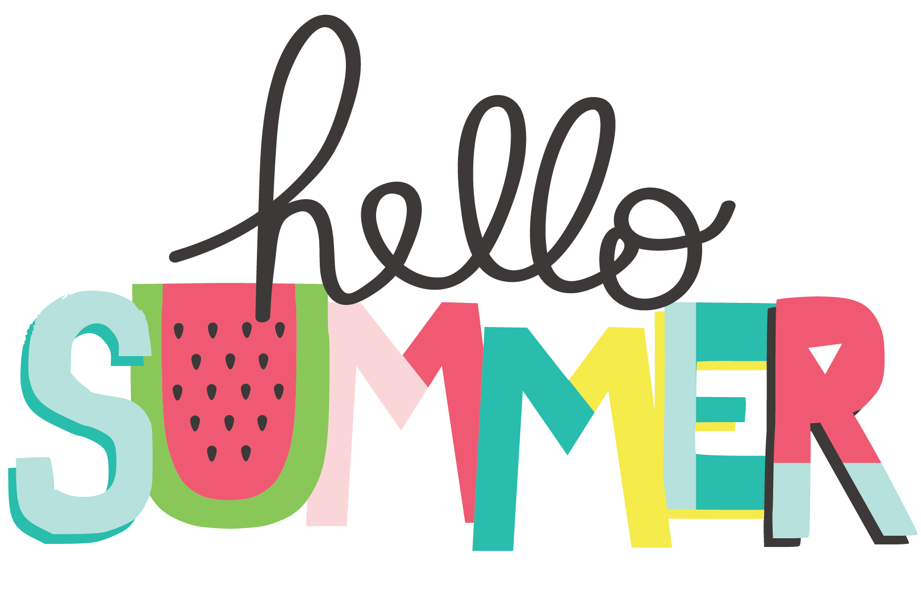 Pin by Simple Stories on Hello Summer | Summer clipart ...