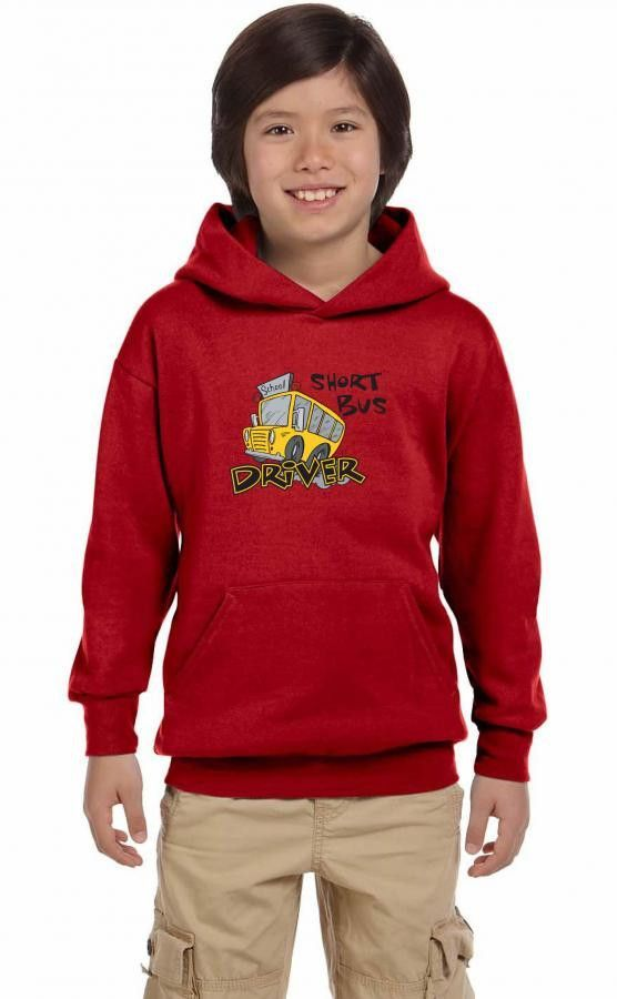 short bus driver Youth Hoodie