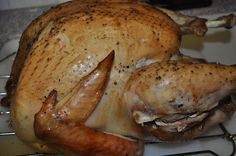 Beth's Favorite Recipes: Perfect Turkey in an Electric Roaster