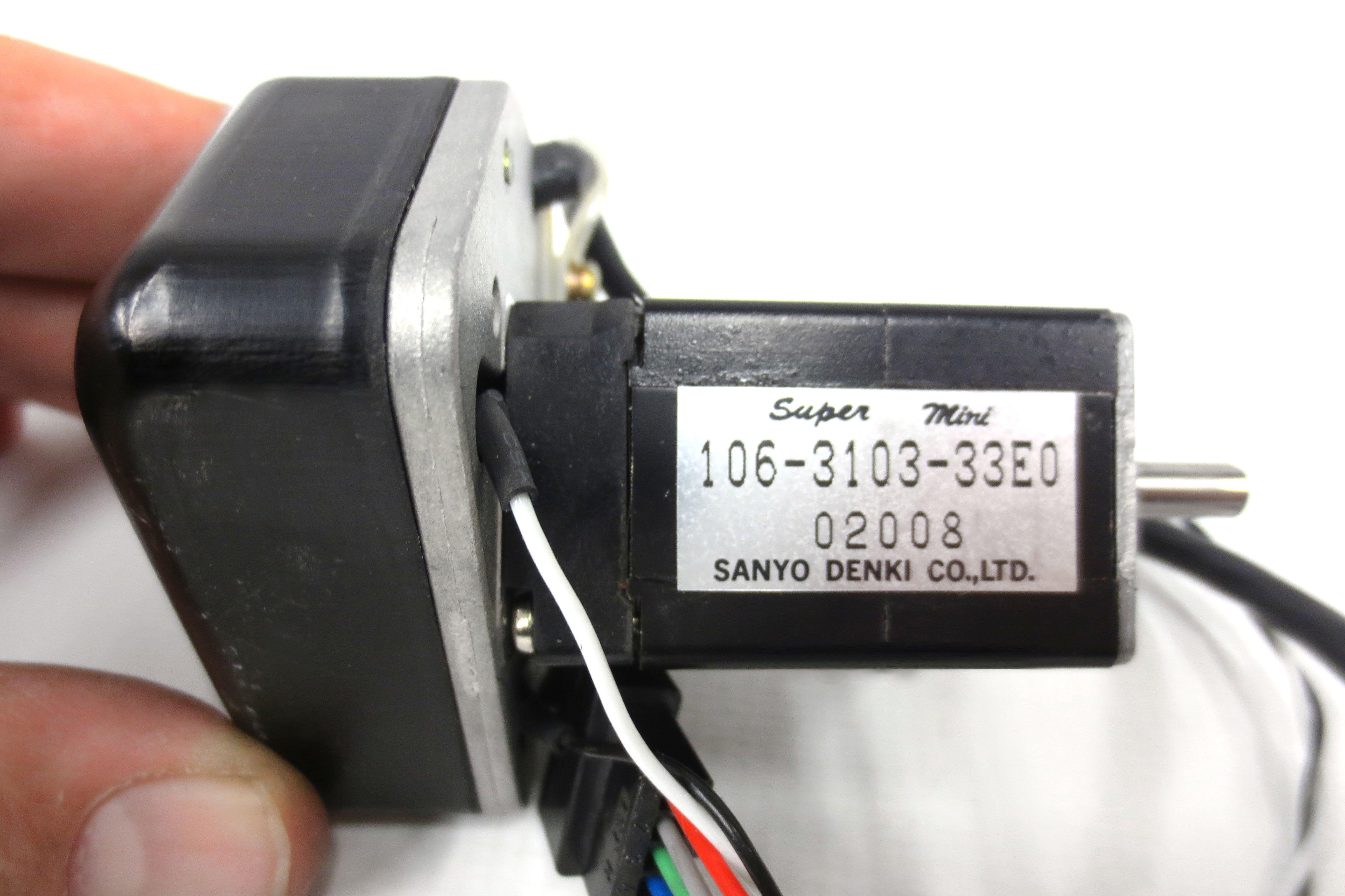 New Sanyo Denki Super Mini Servo Motor Type 106-3103-33E0