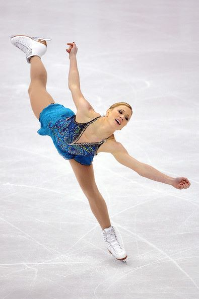 Joannie Rochette is a six-time Canadian National Champion and skates on John Wilson Gold Seal Blades.