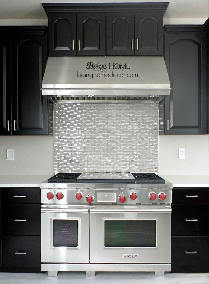Super Simple Diy Tile Backsplash Diy Kitchen Backsplash Kitchen