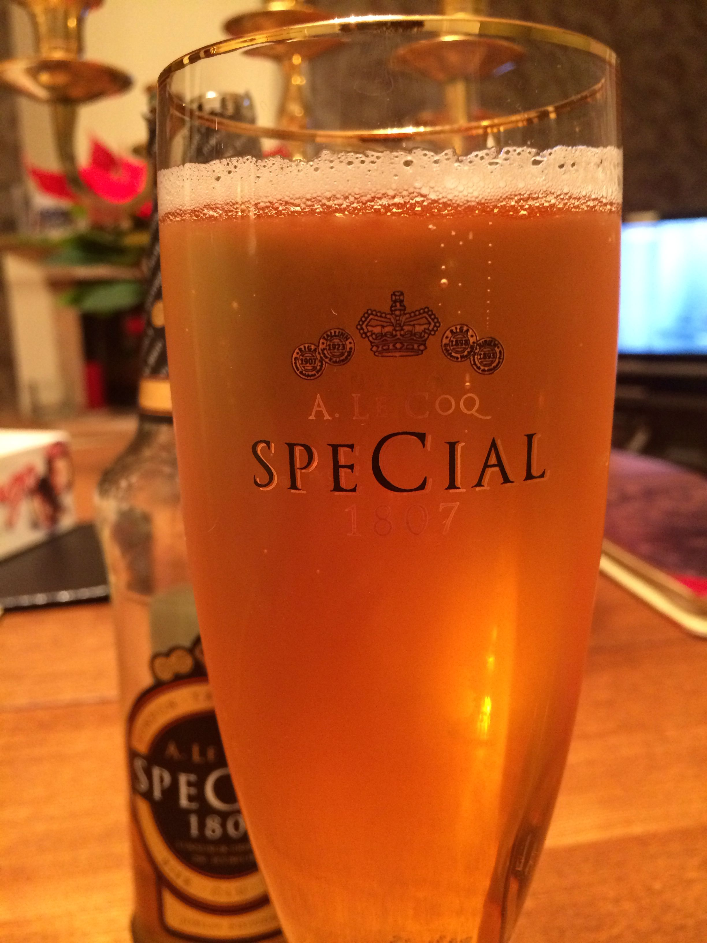 A Le Coq Special Estonia S Finest Quality Jubilee Beer For The 200th Birthday Of The Brewery