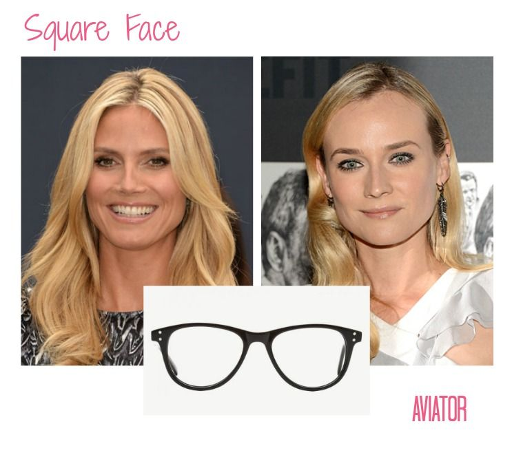 Glasses Frames For Square Face Shape : Frames for a Square Face on Pinterest Face Shapes ...