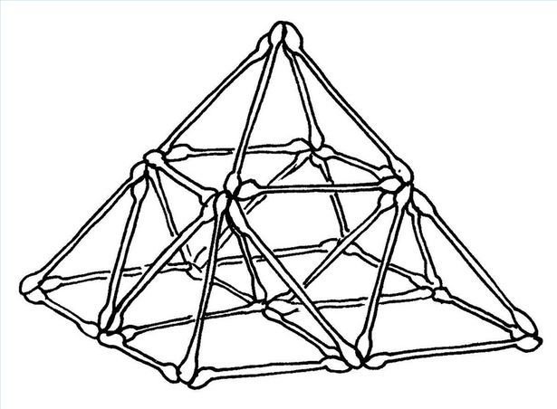 How to Make a Geometric Sculpture Using Cotton Swabs