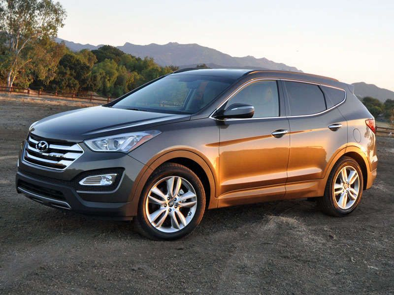 2014 Hyundai Santa Fe Sport Crossover SUV Review Santa