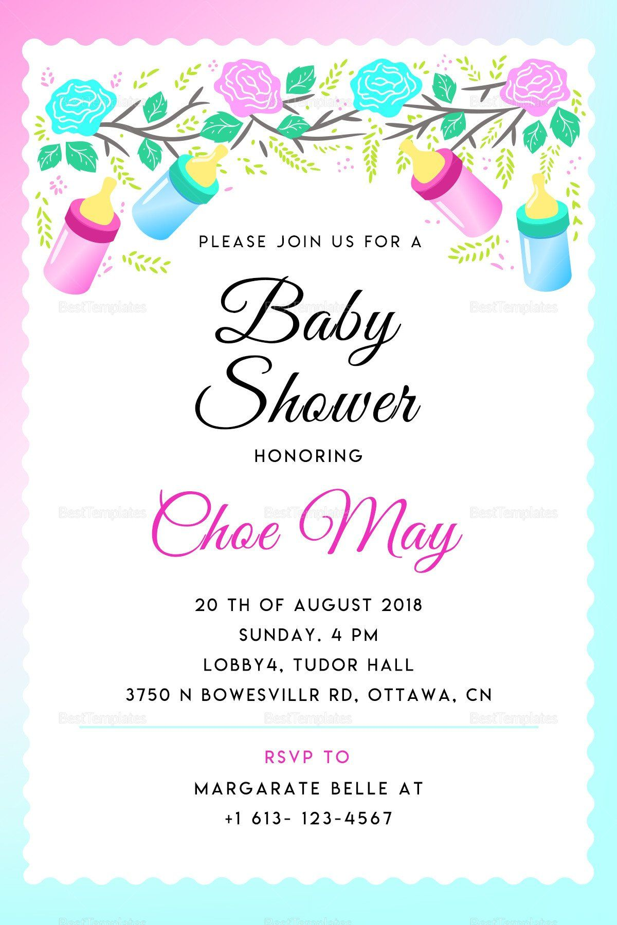Baby Shower Invitations Templates Editable Editable Baby Shower Invi Free Baby Shower Invitations Baby Shower Invitation Templates Baby Shower Invitation Cards