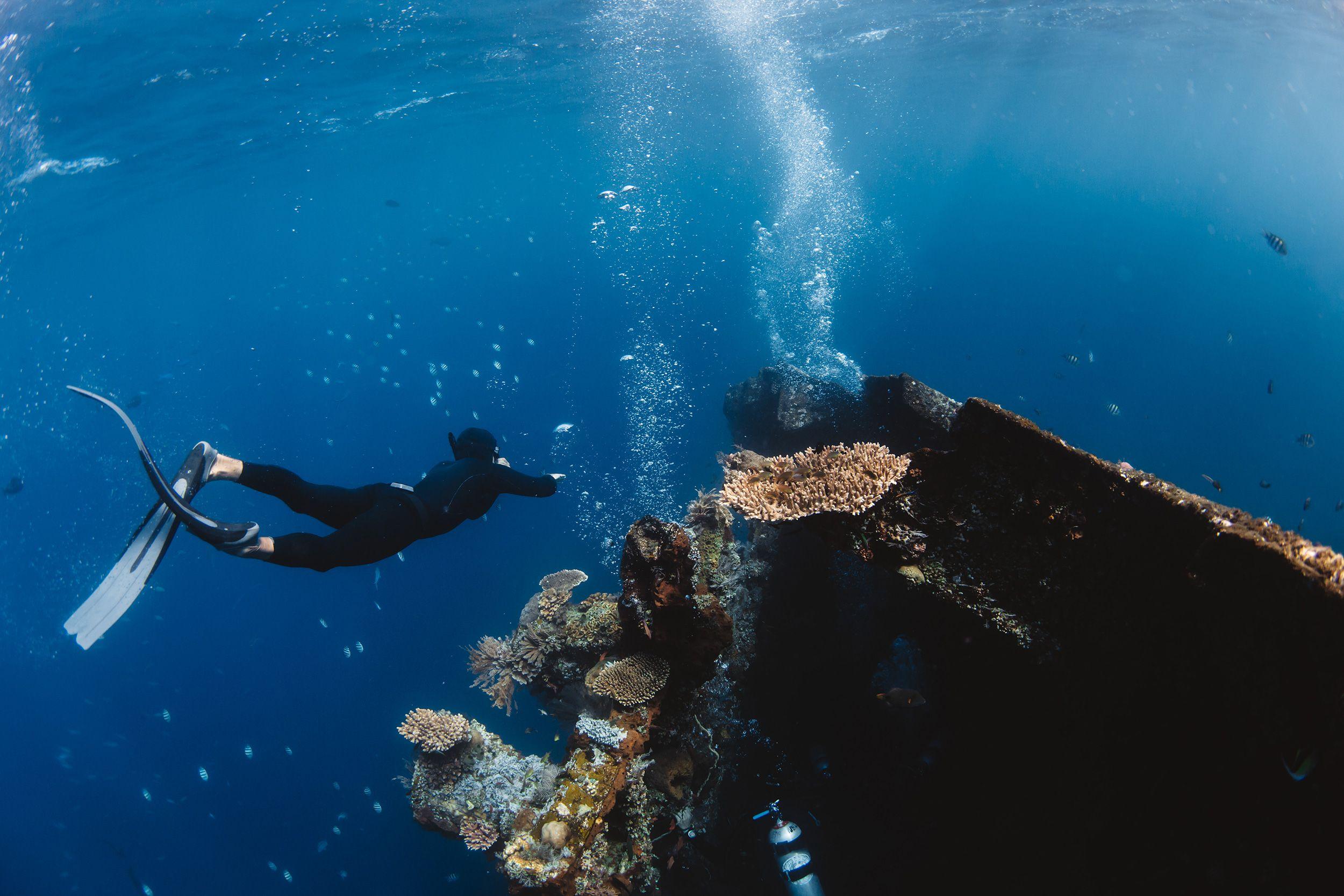 freediver apnea bali - ocean culture - matt porteous
