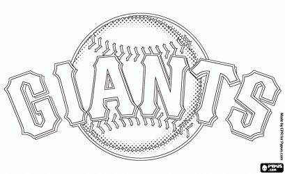 San Francisco Giants Logo Coloring Pages San Francisco Giants
