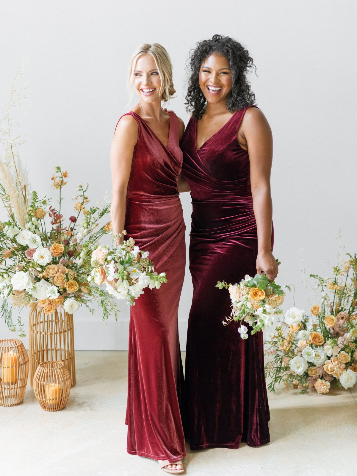 Revelry Just Launched An All Velvet Bridesmaid Dress Collection And We Re So Here For It Velvet Bridesmaid Dresses Bridesmaid Dress Collection Fall Bridesmaid Dresses [ 1600 x 1200 Pixel ]