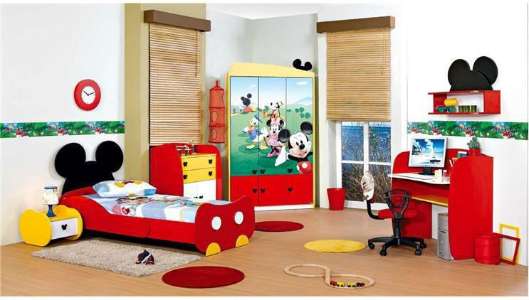 Mickey Mouse Bedroom Furniture Set Mickey Mouse Bedroom Decor