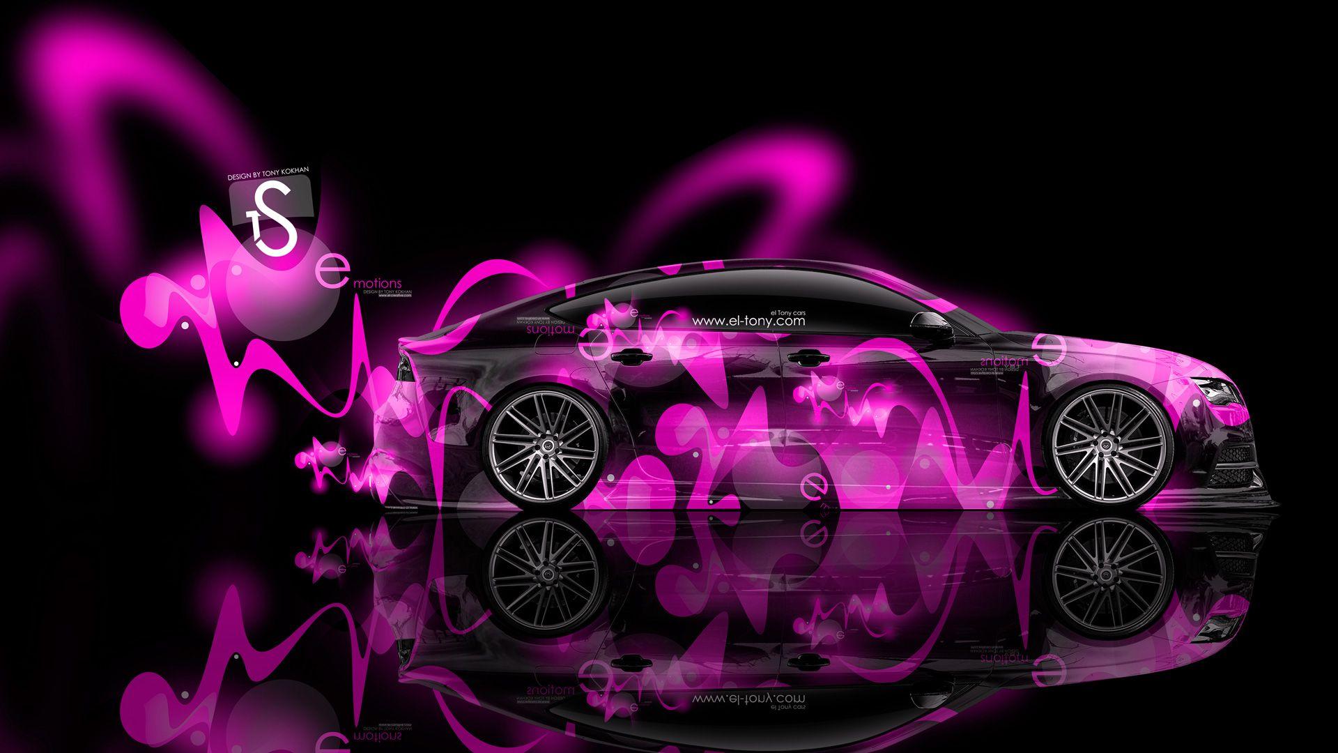 Toyota Supra Plastic Effects Pink 2013 HD Wallpapers Design By Tony Kokhan [www.el Tony.com]  | El Tony.com | Pinterest | Toyota Supra, Toyota And Jdm Tuning