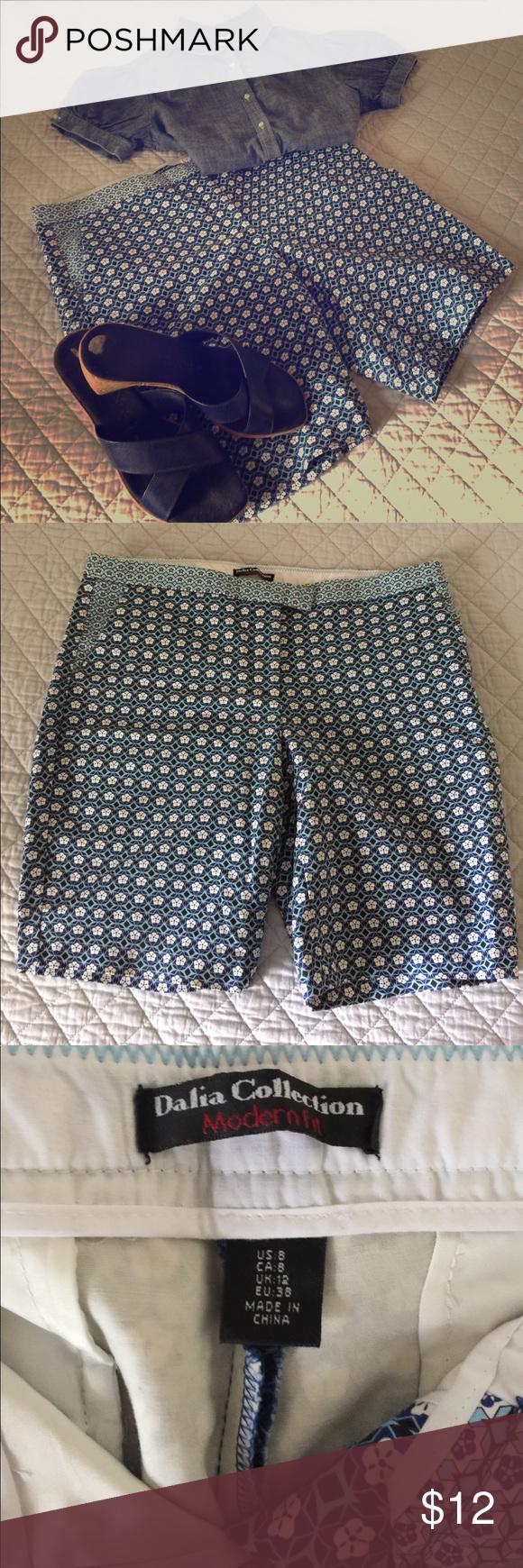 dalia collection bermuda shorts -