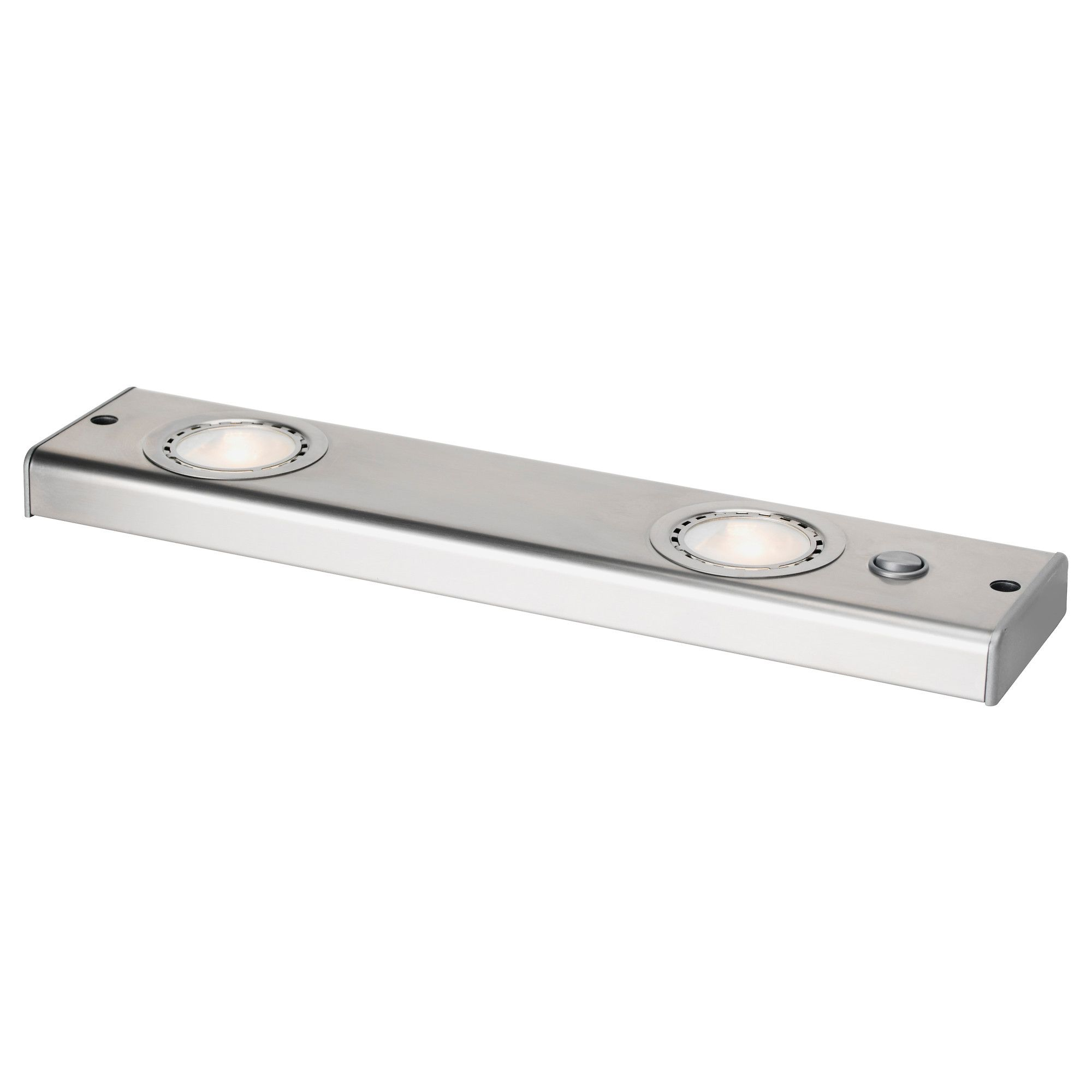 Stainless Steel Kitchen Light Under Cabinet Lighting From Ikea Grundtal Countertop