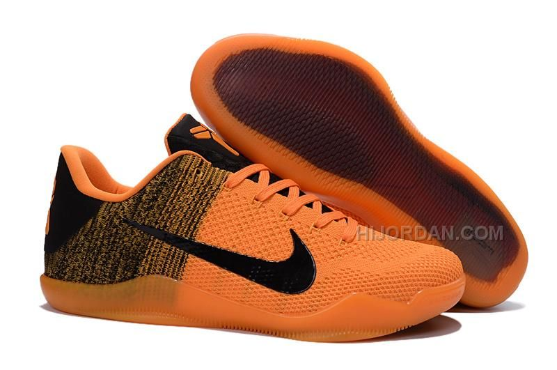 2016 Authentic Nike Kobe 11 Elite Orange/Black Basketball Shoes For Sale