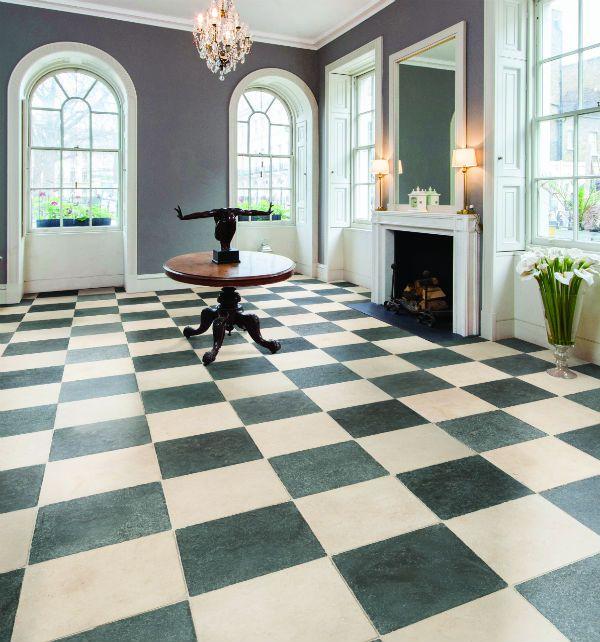 Zuber Limestone Tumbled Finish Tiles Ca Pietra Pattern Stone Floor Stone Flooring Marble Living Room Floor