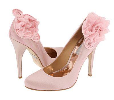 Shoe Me Your Pink Wedding Shoes Badgleymischka Carlopink