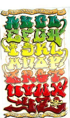 20 Tipos de letras para dibujar graffitis y goticas  Graffiti