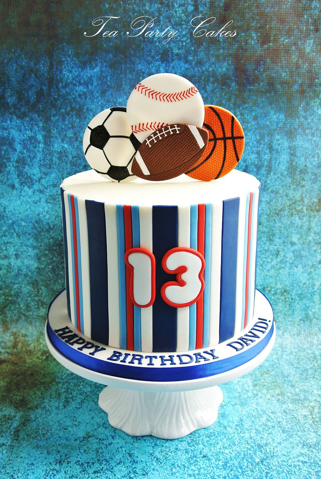 Excellent Sports Themed Birthday Cake Facebook Com Teapartycakesbynaomi Funny Birthday Cards Online Alyptdamsfinfo
