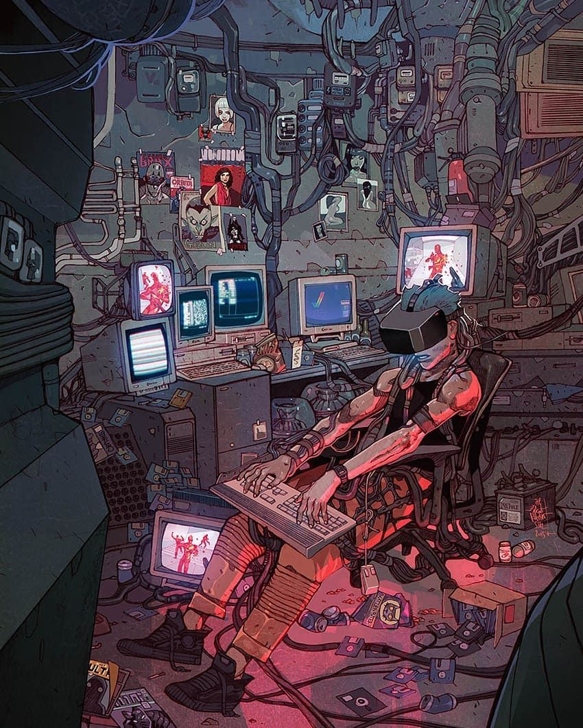 Pin By Momobuns On Devinia Cyberpunk Aesthetic Cyberpunk Art