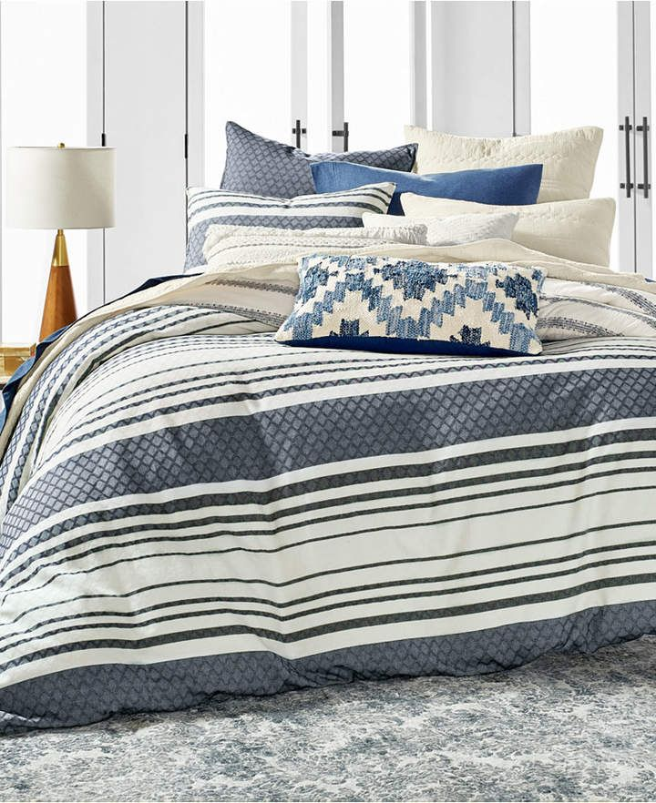 Lucky Brand Stripe Bed Bedding Collection Created For Macy S