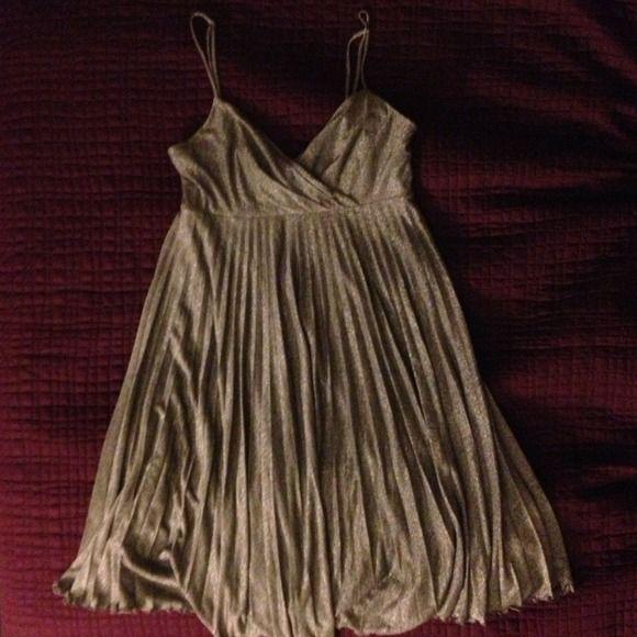 Sparkle silver dress Above knee spaghetti strap dress Dresses