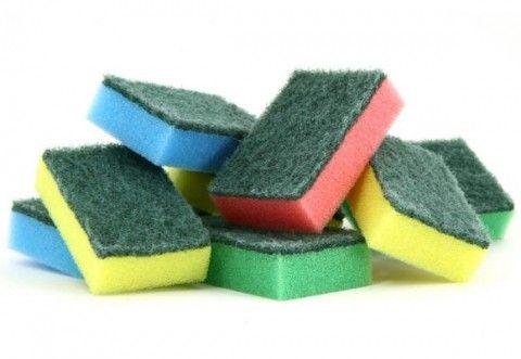 Cómo esterilizar estropajos, esponjas y bayetas