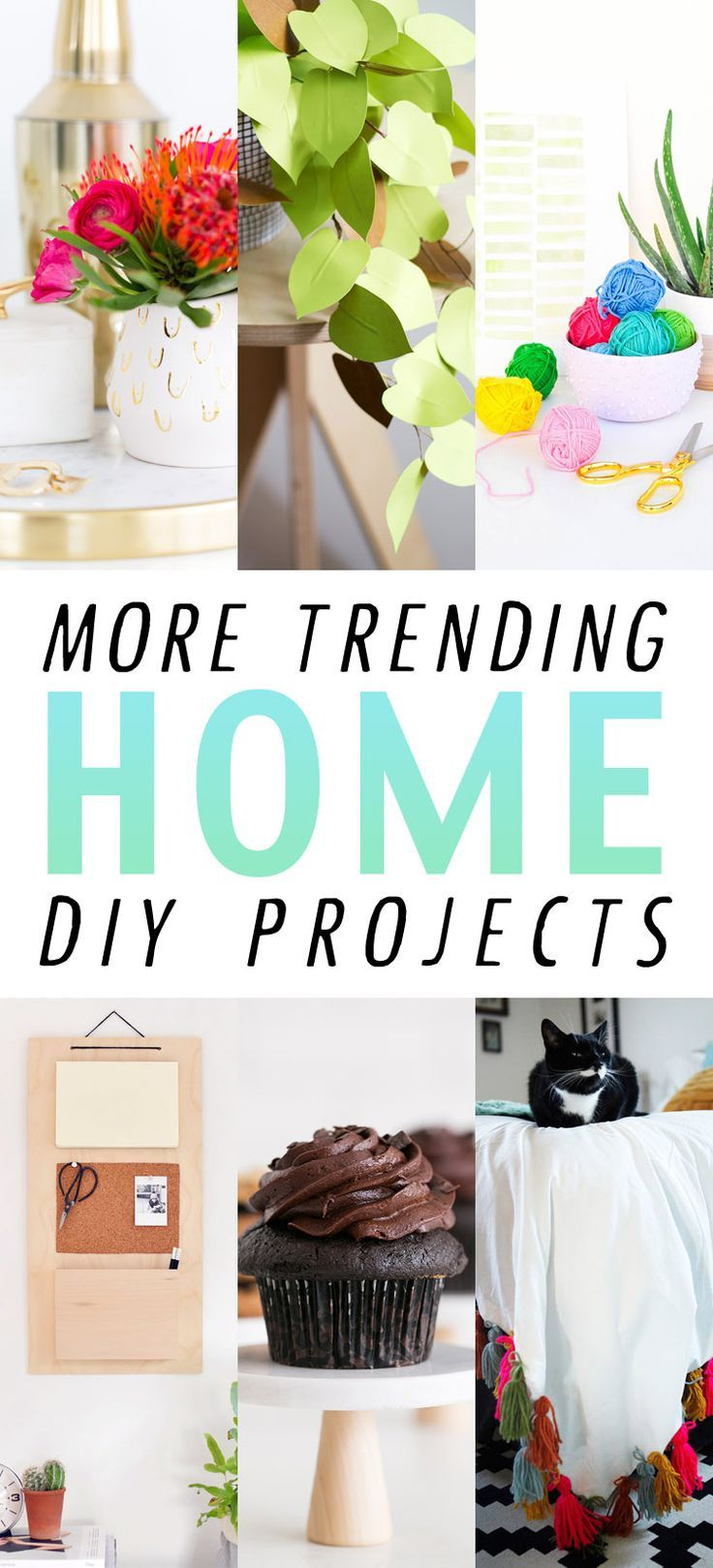 Trending crafts for home decor