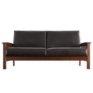 Minisink Sofa Faux Leather Sofa Classic Sofa Furniture