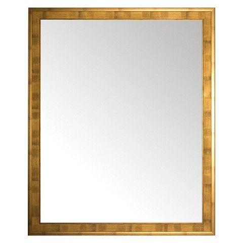 Alpine Glen Wall Mirror With Gold Frame 24 5 X 39 5 Mirror