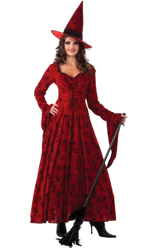 Crimson Witch Costume Witch fancy dress, Witch costume