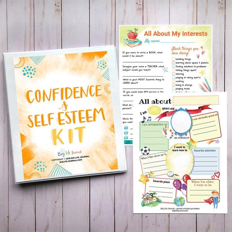 SelfEsteem & Confidence Kit PDF (ages 511) Problem