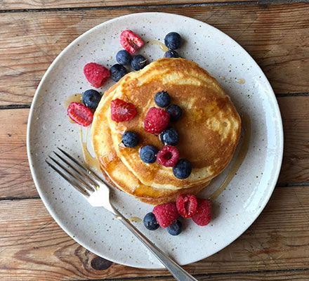 Pancakes For One Recipe Pancakes For One Easy Banana Pancakes Bbc Good Food Recipes