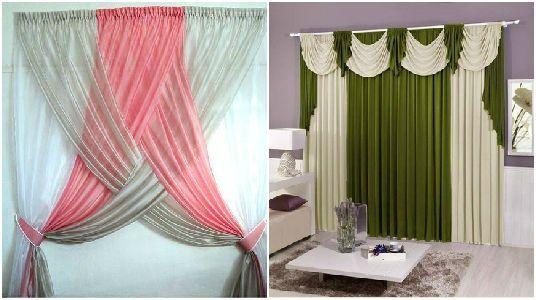 12 creativas decoraciones que puedes hacer con las for Decoracion de cortinas para comedor