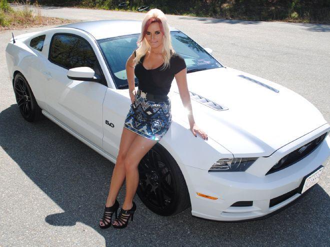 Hot Rod And The Beautiful Pin Up Girl Ashley Arrington