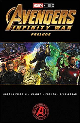 Avengers infinity war part 2 comic book