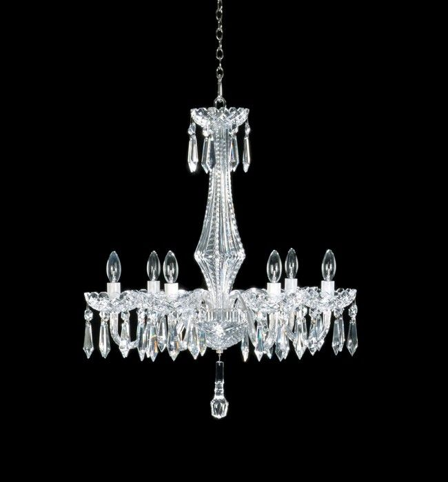 Waterford Crystal Adare Six Arm Chandelier Arm Chandelier