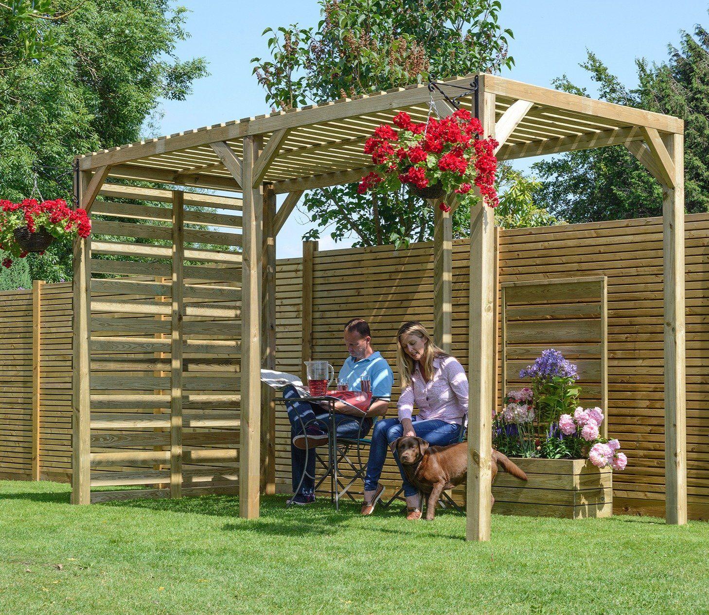 Pergola Roof Ideas Uk: Urban Garden, Garden Structures
