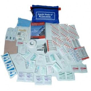 First Aid Kit - Knuckle Mender II #1 Seller! - First Aid Kits - First Aid Supplies - Emergency Prep - Food Storage Product