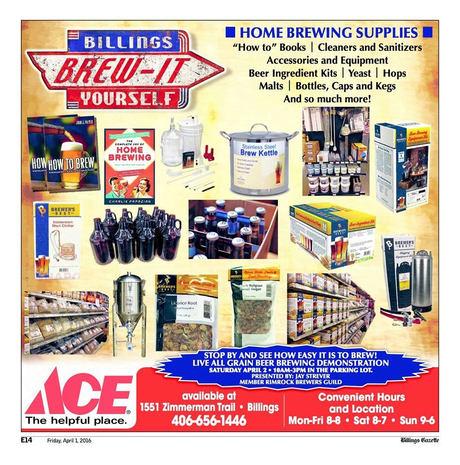 Pin by kings ace hardware on billings brewit yourself