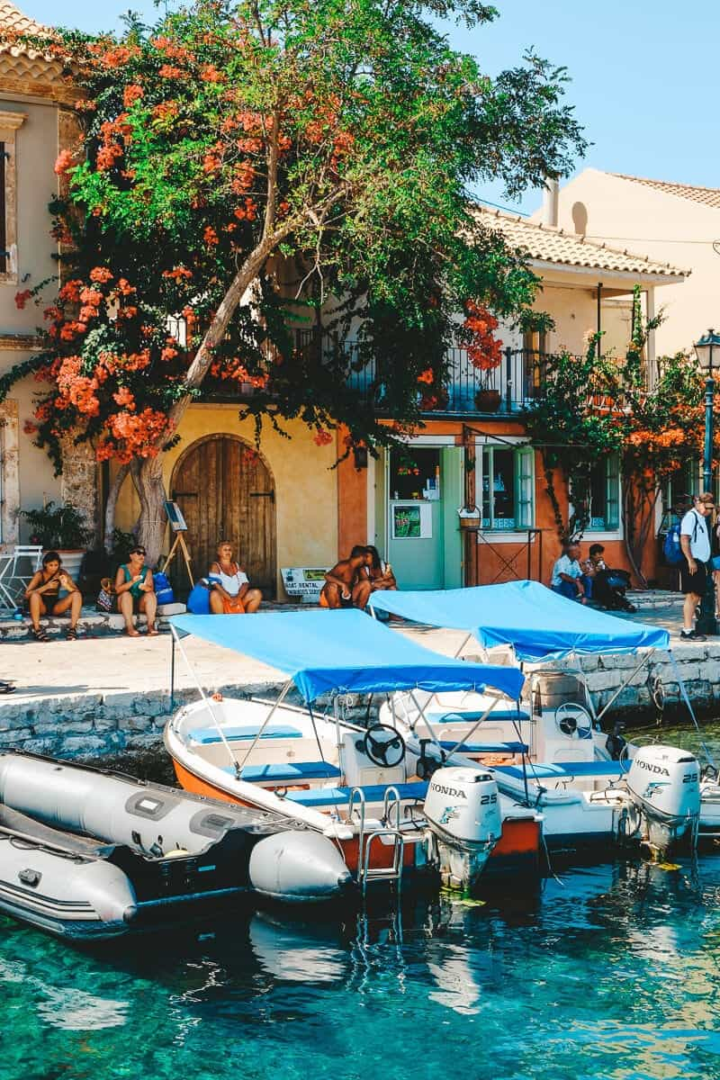 A Quick Guide to Fiskardo  Kefalonia's Venetian Coastal Village is part of Greek islands, Europe travel, Travel, Greece travel, Top travel destinations, Europe travel guide - The historic harbour village of Fiskardo (or Fiscardo) is one of the most beautiful  and popular  parts of Kefalonia; here's everything you need to know